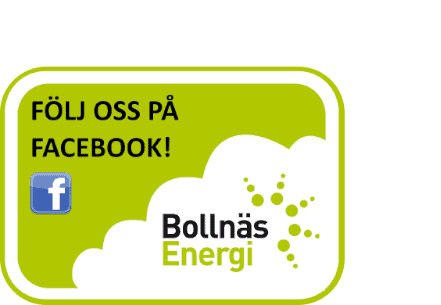 """Följ oss på Facebook"" banner"